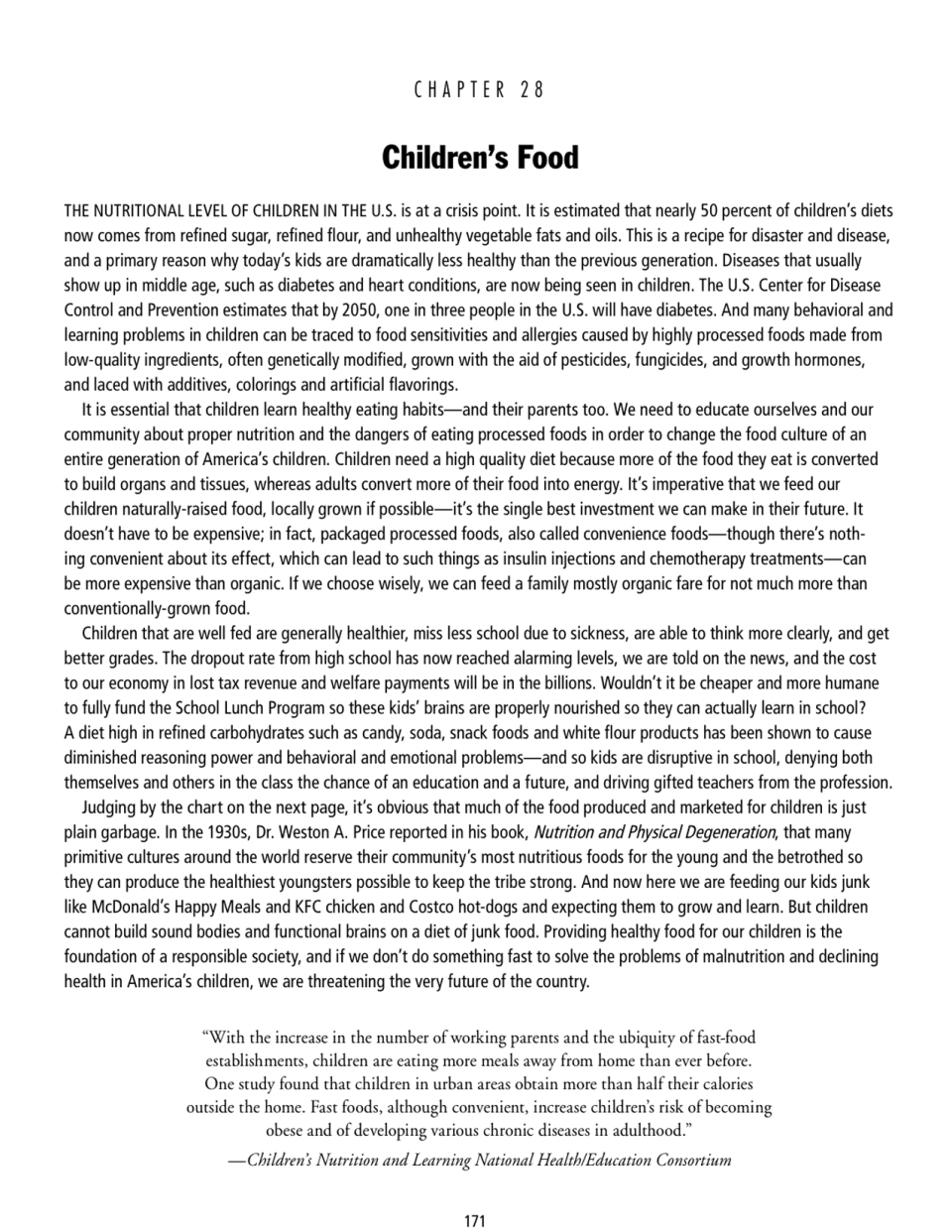 gilliandrake,thetruthaboutfood,childrensfoods