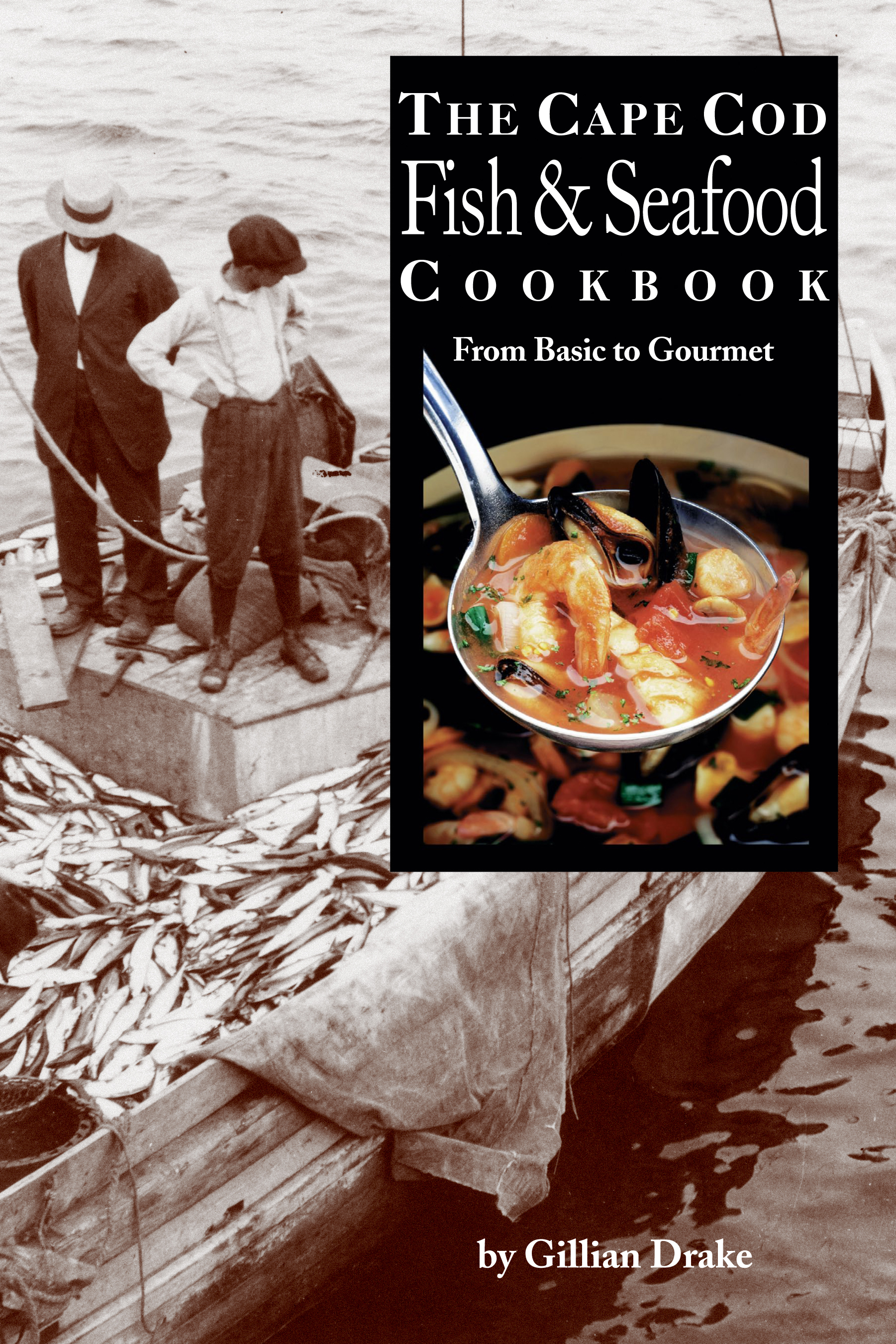 Seafood cookbook FRONT COVER ONLY